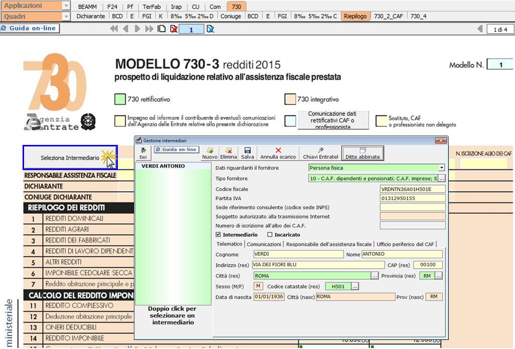 Modello 730 3 prospetto di liquidazione confortevole for Software di progettazione del modello di casa