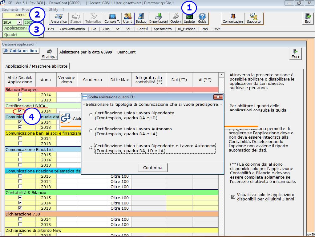 Certificazione unica 2015 - Certificazione lavoro autonomo provvigioni e redditi diversi nel 730 ...