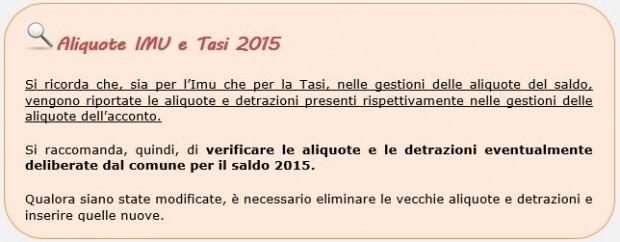 Aliquote IMU e TASI