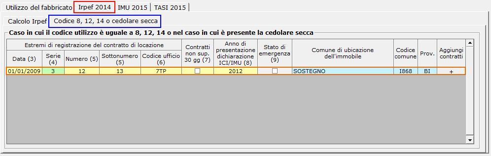 Calcolo della cedolare secca 2015 - Aliquota cedolare secca ...
