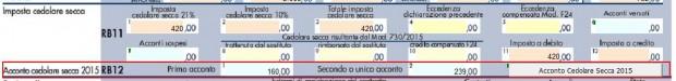 Calcolo della cedolare secca 2015 for Cedolare secca calcolo