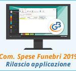 Comunicazione Spese Funebri 2019: rilascio applicazione