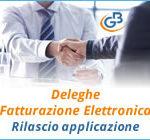 Deleghe Fatturazione Elettronica: rilascio applicazione