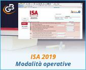 ISA 2019: modalità operative