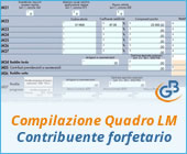 Compilazione Quadro LM 2019: contribuente forfetario