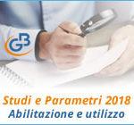 Studi e Parametri 2018: abilitazione e utilizzo applicazione