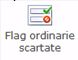 Flag ordinarie scartate