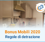 Bonus Mobili 2020: regole di detrazione