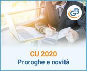 Certificazione Unica 2020: proroghe e novità