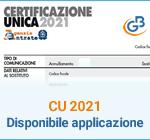 Certificazione Unica 2021: disponibile applicazione