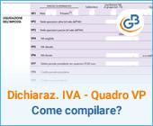 Come compilare il quadro VP nella Dichiarazione IVA 2020?