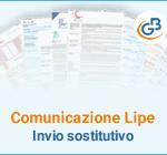 Comunicazione Lipe: invio sostitutivo