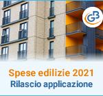 Comunicazione spese edilizie condominiali 2021: rilascio applicazione