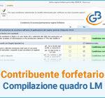 Contribuente forfetario: compilazione del quadro LM