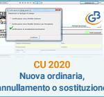 Certificazione Unica 2020: nuova ordinaria, annullamento o sostituzione