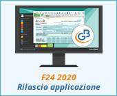 F24 2020: rilascio applicazione