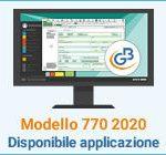 Modello 770 2020: disponibile applicazione
