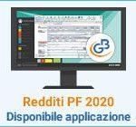 Redditi Persone Fisiche 2020: disponibile applicazione