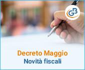 Decreto maggio: quali novità fiscali in programma?