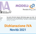 Dichiarazione IVA e IVA Base: novità 2021