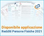 Disponibile applicazione: Redditi Persone Fisiche 2021