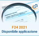 F24 2021: disponibile applicazione