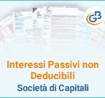 Interessi Passivi non Deducibili: Società di Capitali