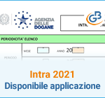 Intra 2021: disponibile applicazione