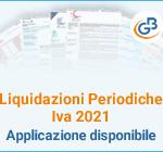 Liquidazioni Periodiche Iva 2021: Applicazione disponibile