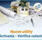 Nuove utility: Scrivania del professionista e Verifica catasto