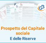 Prospetto del Capitale sociale e delle Riserve