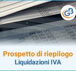 Prospetto di riepilogo liquidazioni Iva