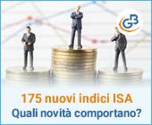 Quali novità comporta l'introduzione di 175 indici ISA?