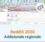 Redditi 2020: Addizionale regionale