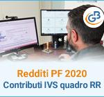 Redditi PF 2020: contributi IVS nel quadro RR