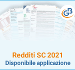 Redditi SC 2021: disponibile applicazione