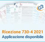 Ricezione 730-4 2021: applicazione disponibile