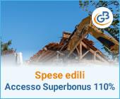 Spese edili: come accedere al super bonus 110%?
