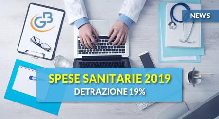 News - Spese sanitarie 2019: detrazione 19%