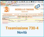 Trasmissione telematica 730-4: novità