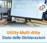 Utility Multi ditta: Stato delle Dichiarazioni